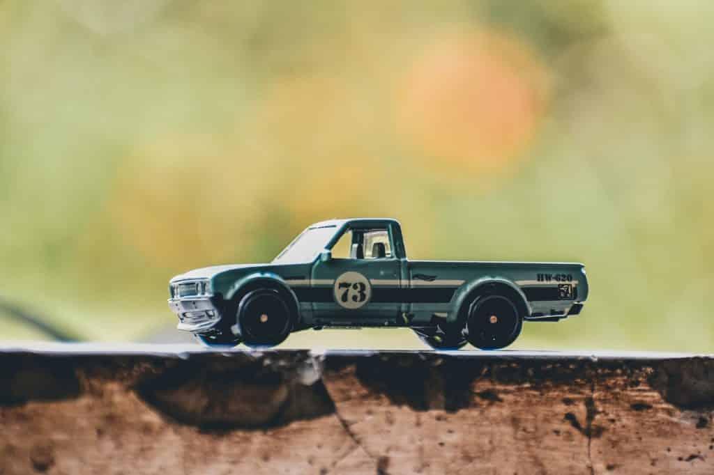 Petite voiture jouet